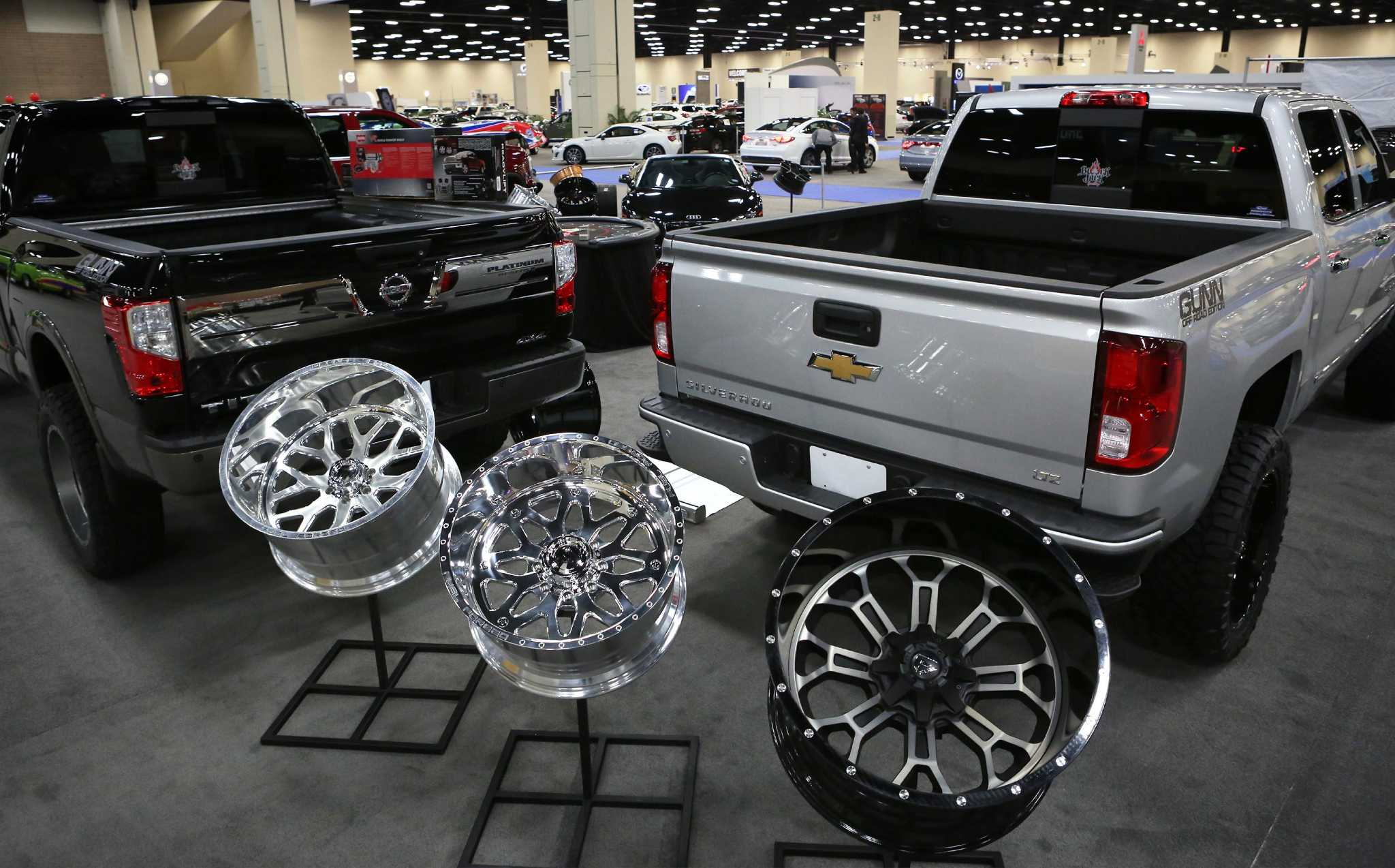 Truck manufacturers prove they are texas tough at san for A a motors san antonio tx