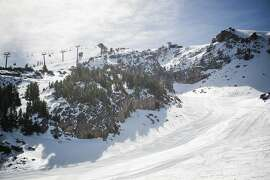 Mammoth Mountain in California opened the 2016-2017 on Thursday, Nov. 10, 2016. It's the first major resort in the west to open for the season.