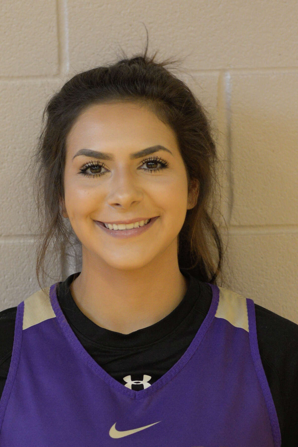 Midland High girls basketball player Brittney Garza photographed Thursday, Nov. 3, 2016. James Durbin/Reporter-Telegram