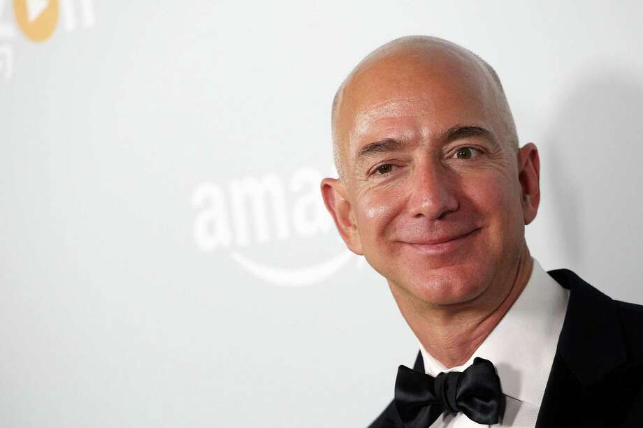CEO of Amazon.com, Inc. Jeff Bezos attends the Amazon Emmy Award afterparty at Sunset Tower, in West Hollywood, California, on September 18, 2016. / AFP PHOTO / TOMMASO BODDITOMMASO BODDI/AFP/Getty Images Photo: TOMMASO BODDI, Stringer / AFP or licensors