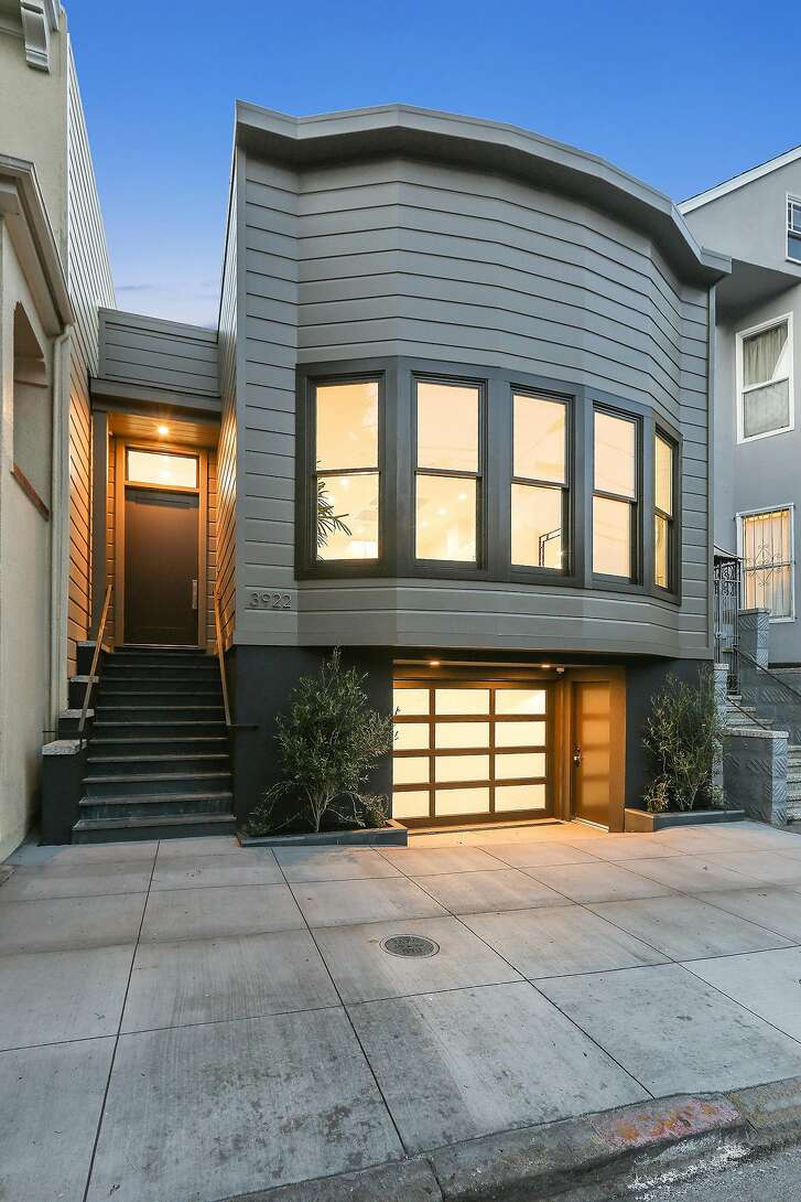3922 18th St. in Dolores Park is a renovated three bedroom with a two car garage listed at $3.35 million.