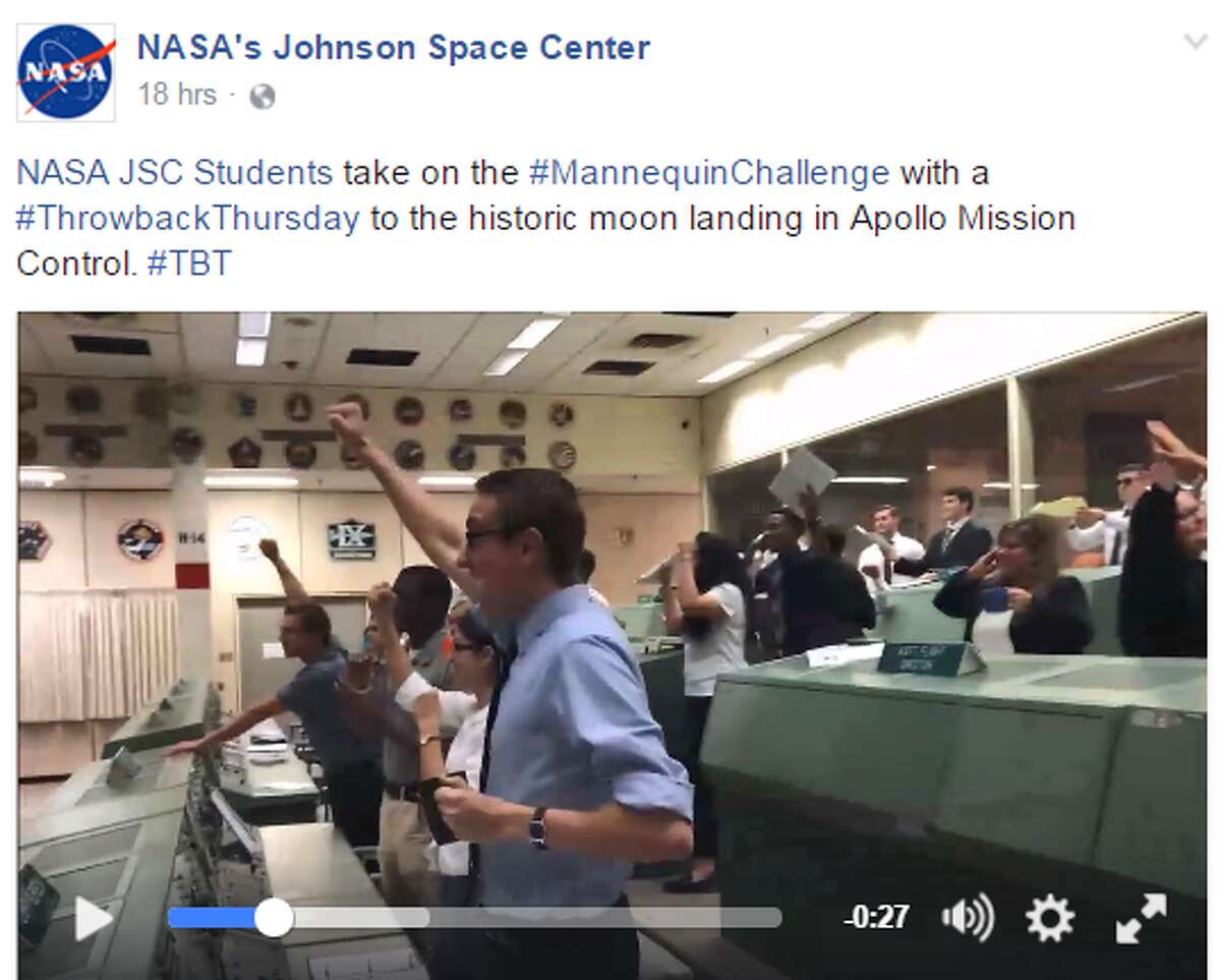 NASA recently participated in the internet's latest trend, the #MannequinChallenge. Click through to see the evolution of the NASA space suit.