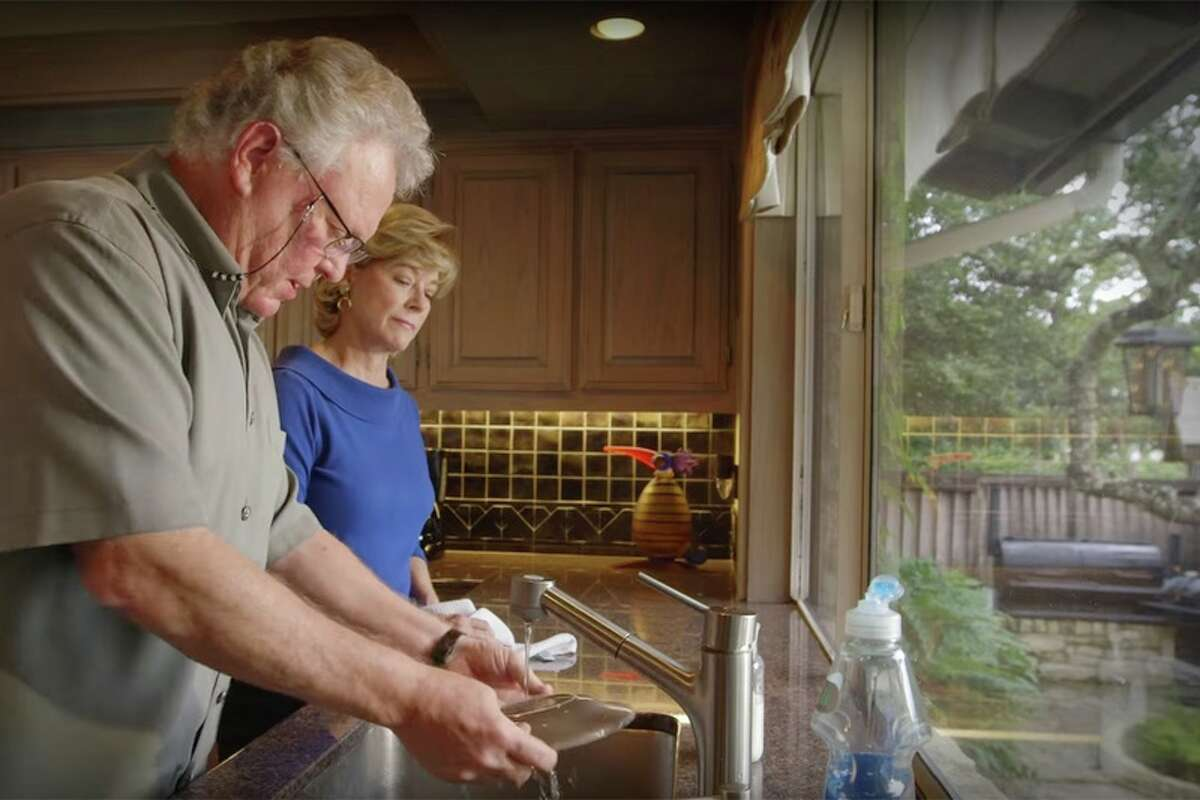 Travis County Commissioner Gerald Daugherty, left, and his wife, Charlyn, starred in a viral campaign ad released in October 2016. Although Travis County is a Democratic stronghold, Daugherty won re-election on Nov. 8, 2016, with 52 percent of the vote. Click through the gallery to see reactions from Texas celebrities to an election that surprised people nationwide