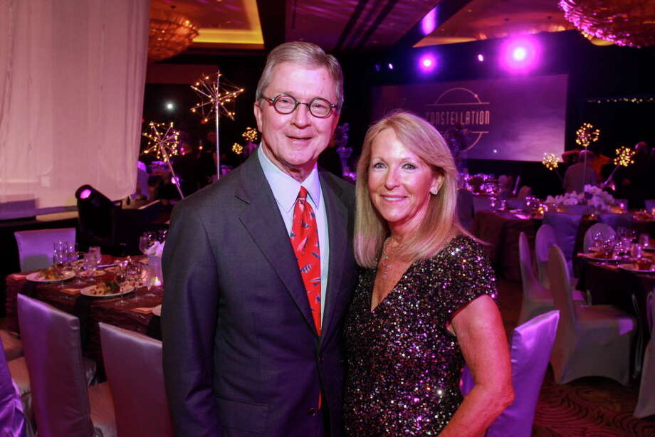 Gala chairs Phil Ferguson and Kathy O'Neil at the Constellation gala. (For the Chronicle/Gary Fountain, November 4, 2016) Photo: Gary Fountain, For The Chronicle / Copyright 2016 Gary Fountain