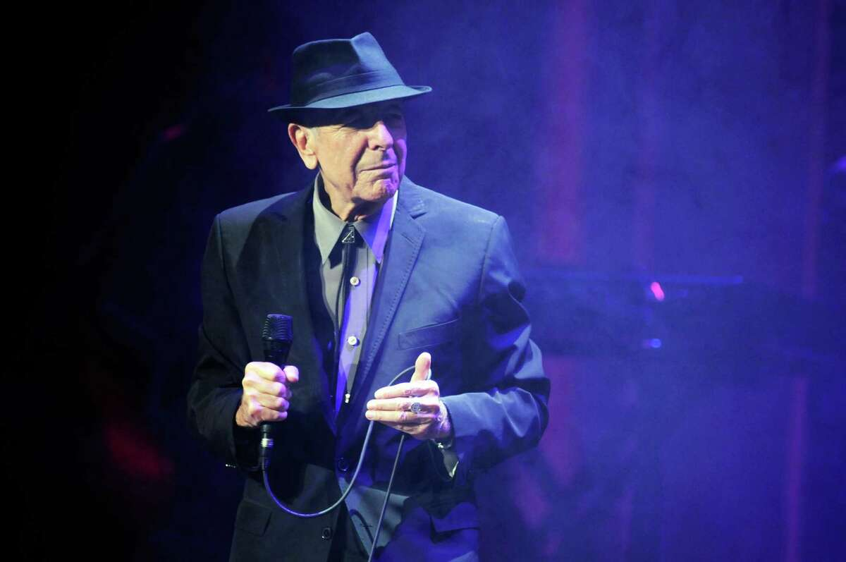 LOUISVILLE, KY - MARCH 30: Leonard Cohen performs in concert at the Louisville Palace on March 30, 2013 in Louisville, Kentucky. (Photo by Stephen J. Cohen/Getty Images)