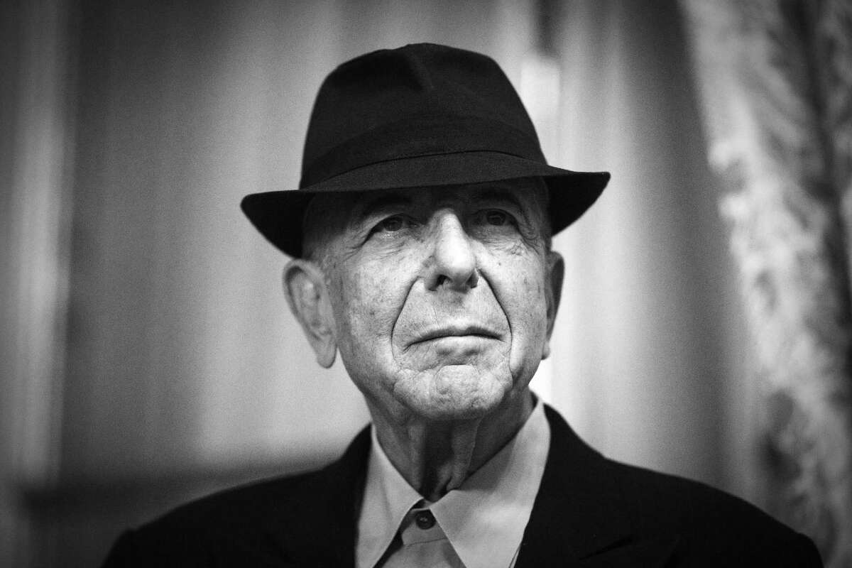 Canadian singer and poet Leonard Cohen is pictured on January 16, 2012 in Paris. Leonard Cohen's new album