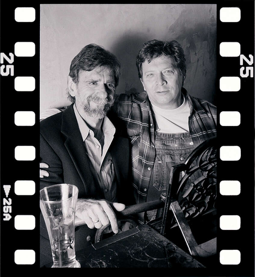 Dan Penn and Spooner Oldham (with beard) Credit: Proper Records  emailed photo / handout email