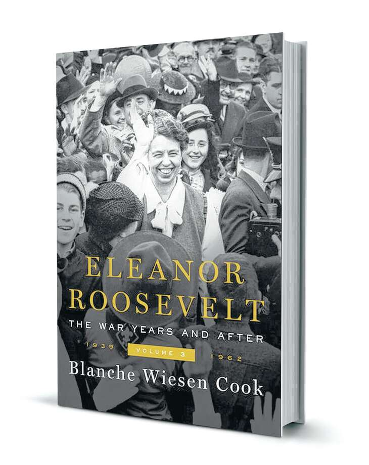 """The ambitious biography about former first lady Eleanor Roosevelt seems to lose focus in the third volume, """"The War Years and After, 1939-1962."""""""
