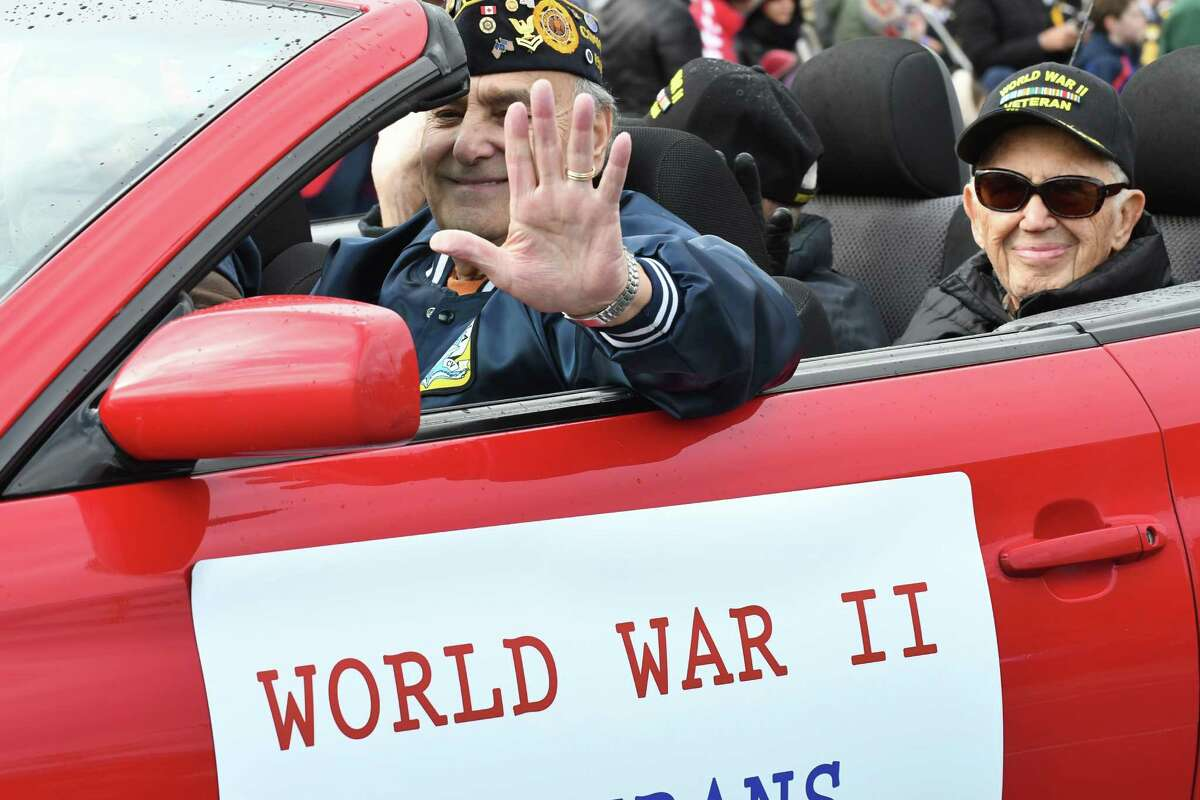 The 62nd annual Veterans Day parade on Friday Nov. 11, 2016 in Albany, N.Y. (Michael P. Farrell/Times Union)
