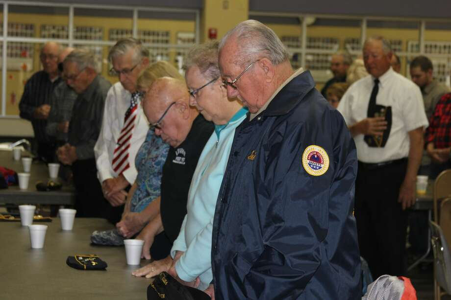Harbor Beach Community Schools honored local veterans on Friday. Photo: Bradley Massman/Huron Daily Tribune
