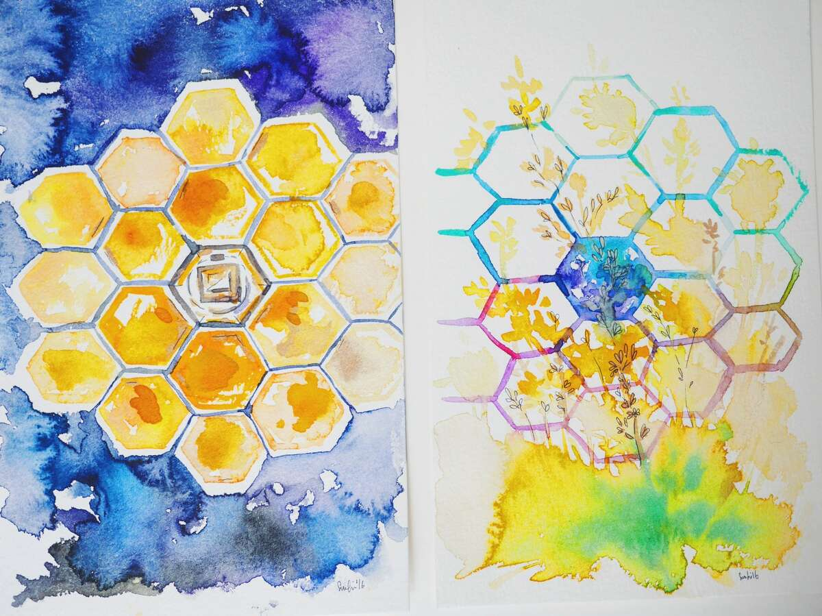 NASA recently invited artists to be inspired by their James Webb Telescope, these are some of their creations.
