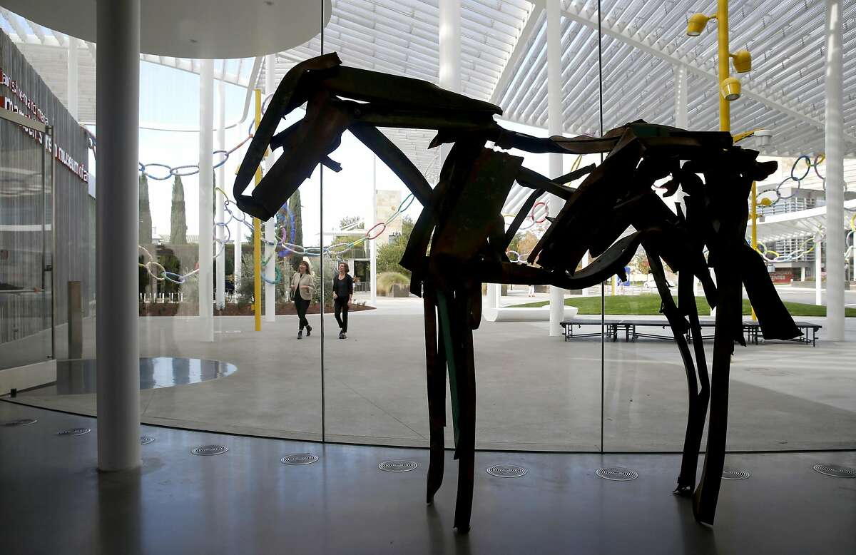 An untitled sculpture of a horse by Deborah Butterfield is displayed in the lobby of the Manetti Shrem Museum of Art at UC Davis on Thursday, Nov. 10, 2016. The museum will hold its grand opening event on Sunday.