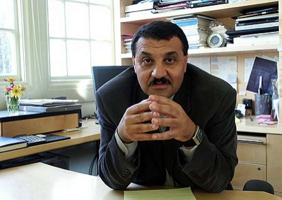 Professor Nezar AlSayyad, chair of UC Berkeley's Center for Middle Eastern Studies Photo: Bonnie Azab Powell / UC Berkeley