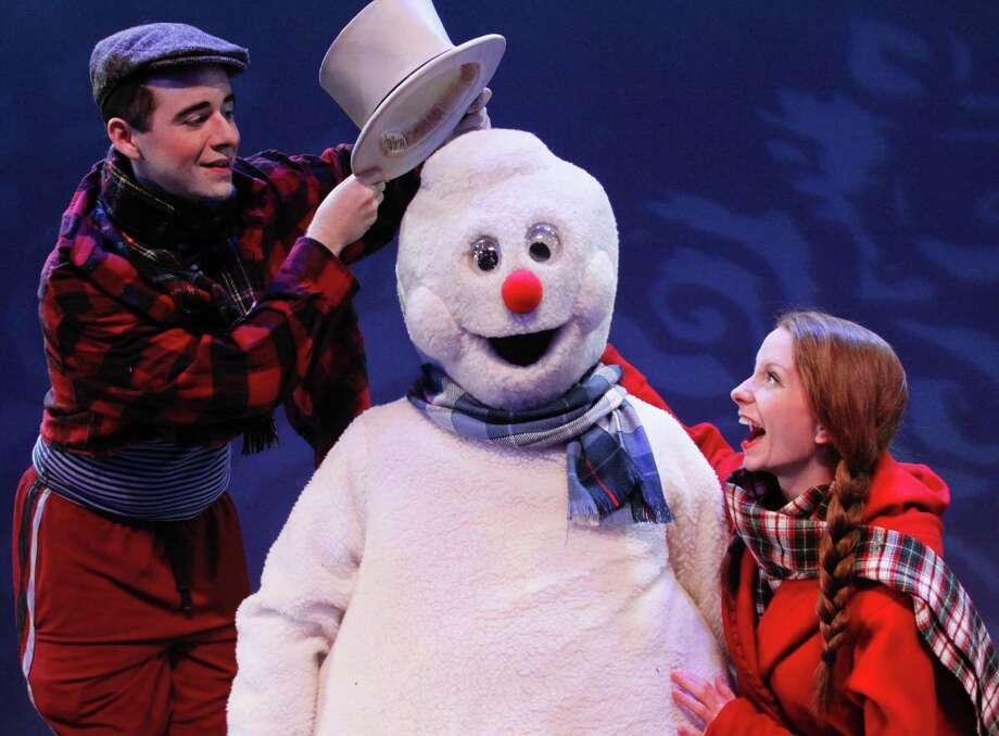 "The Children's Theatre at Downtown Cabaret in Bridgeport will offer performances of ""Frosty the Snowman"" through Thursday, Dec. 29. Photo: Downtown Cabaret Theatre / Contributed Photo"
