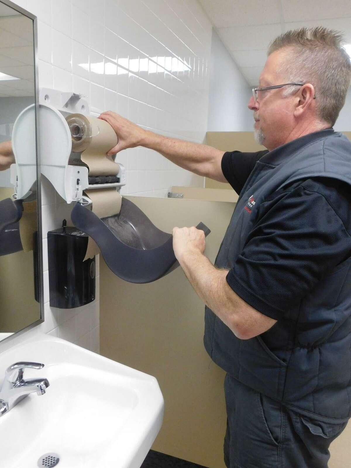 Enviro-Master Technician Rob Bumgarner.