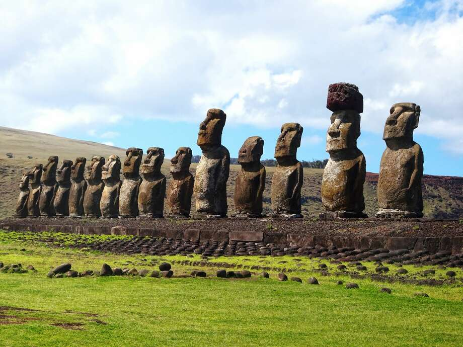 Ahu TongarikiEaster Island, Chile Photo: Patricia Hamilton/Getty Images