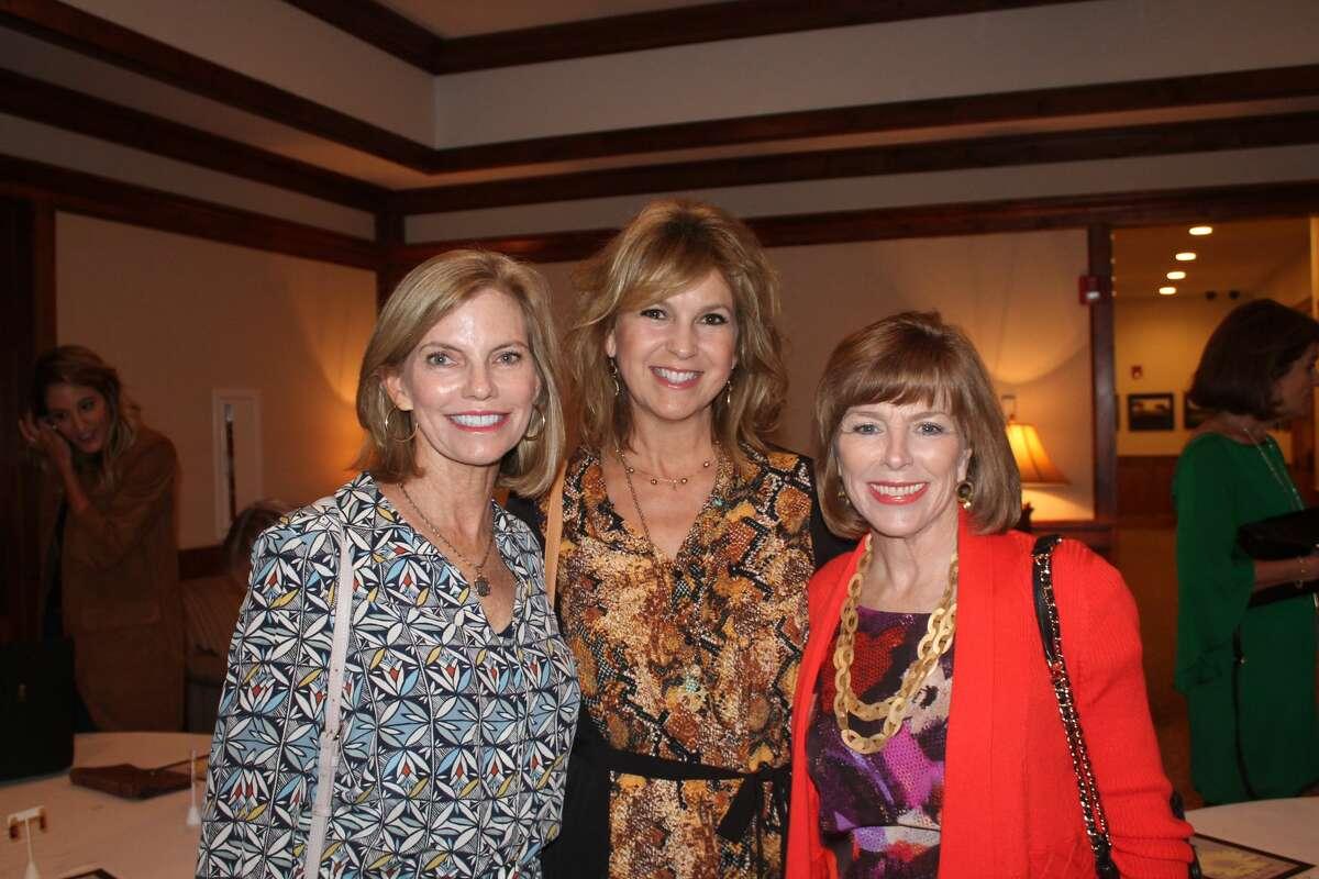Buckner benefit: Randee Rathbone, from left, Lisa Frosch and Shauna Madden