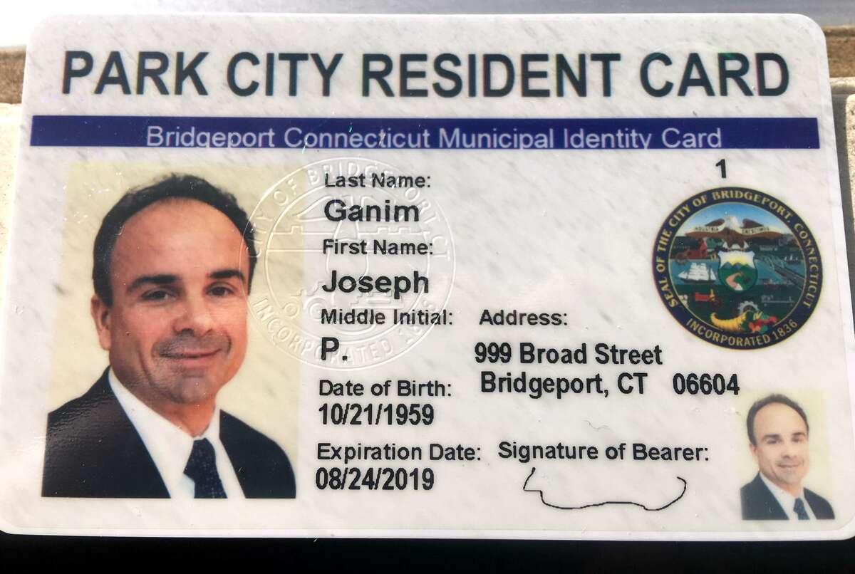 A sample of Bridgeport's Municipal Identity Card.