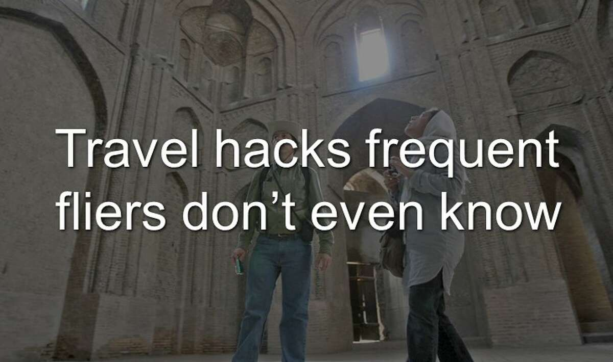 Continue clicking to learn the travel hacks frequent fliers don't even know about.