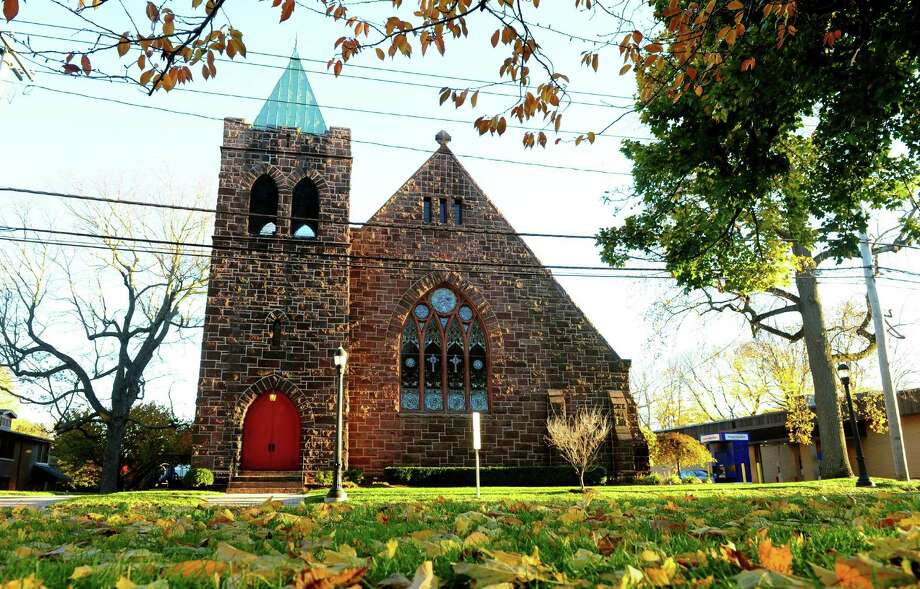An exterior view of Mary Taylor Methodist Church on Broad Street in Milford, Conn., on Thursday Oct. 6, 2016. Photo: Christian Abraham / Hearst Connecticut Media / Connecticut Post