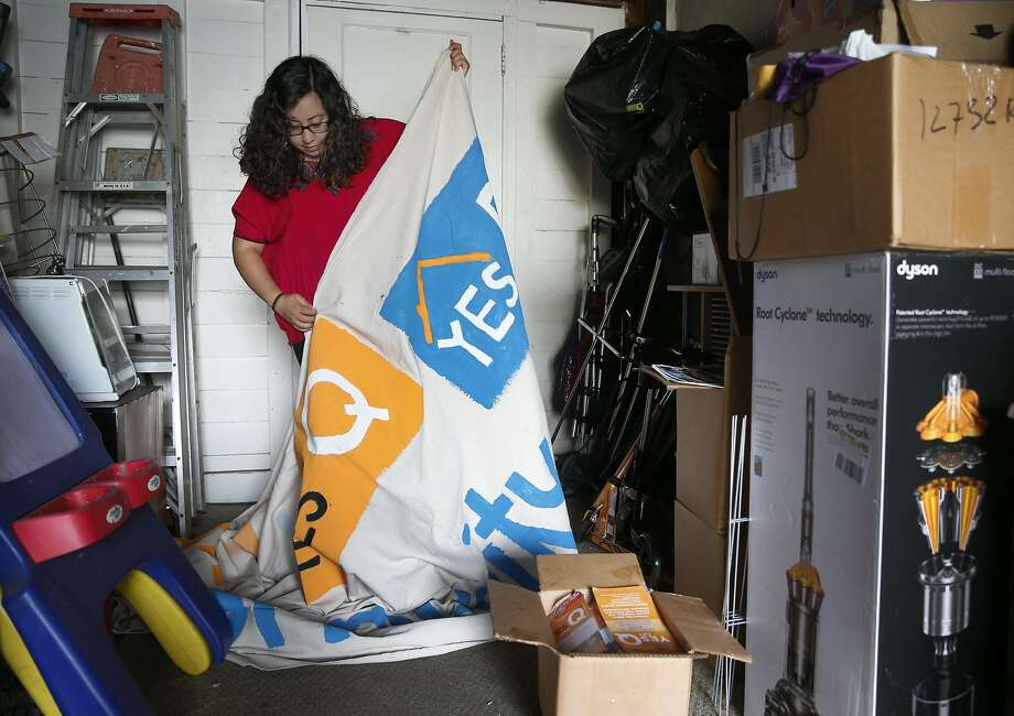 Noelia Corzo is a community organizer for Faith in Action, which sponsored Measure Q, a rent control initiative in San Mateo that failed. Photo: Paul Chinn, The Chronicle