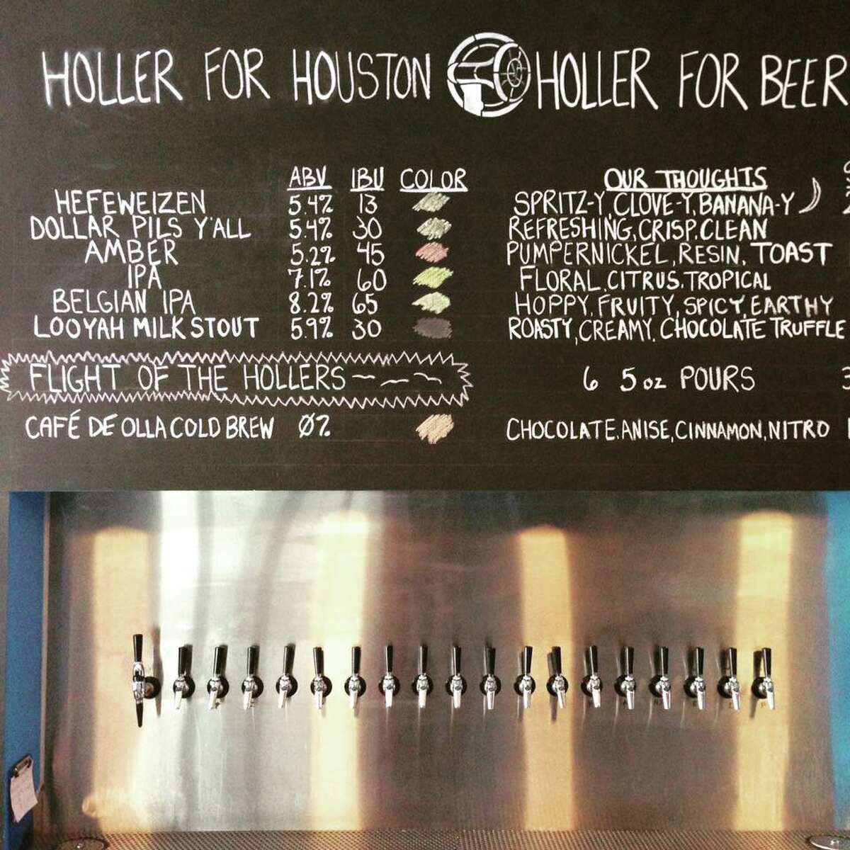 Get ready to get loud at Holler Brewing Co., at 2206 Edwards.