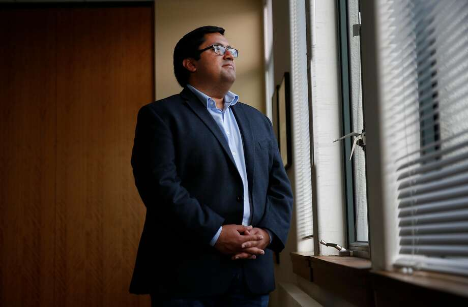 Berkeley Mayor Jesse Arreguin this week urged UC Berkeley to cancel the planned Free Speech Week event to avoid more violent unrest. Photo: Leah Millis, The Chronicle