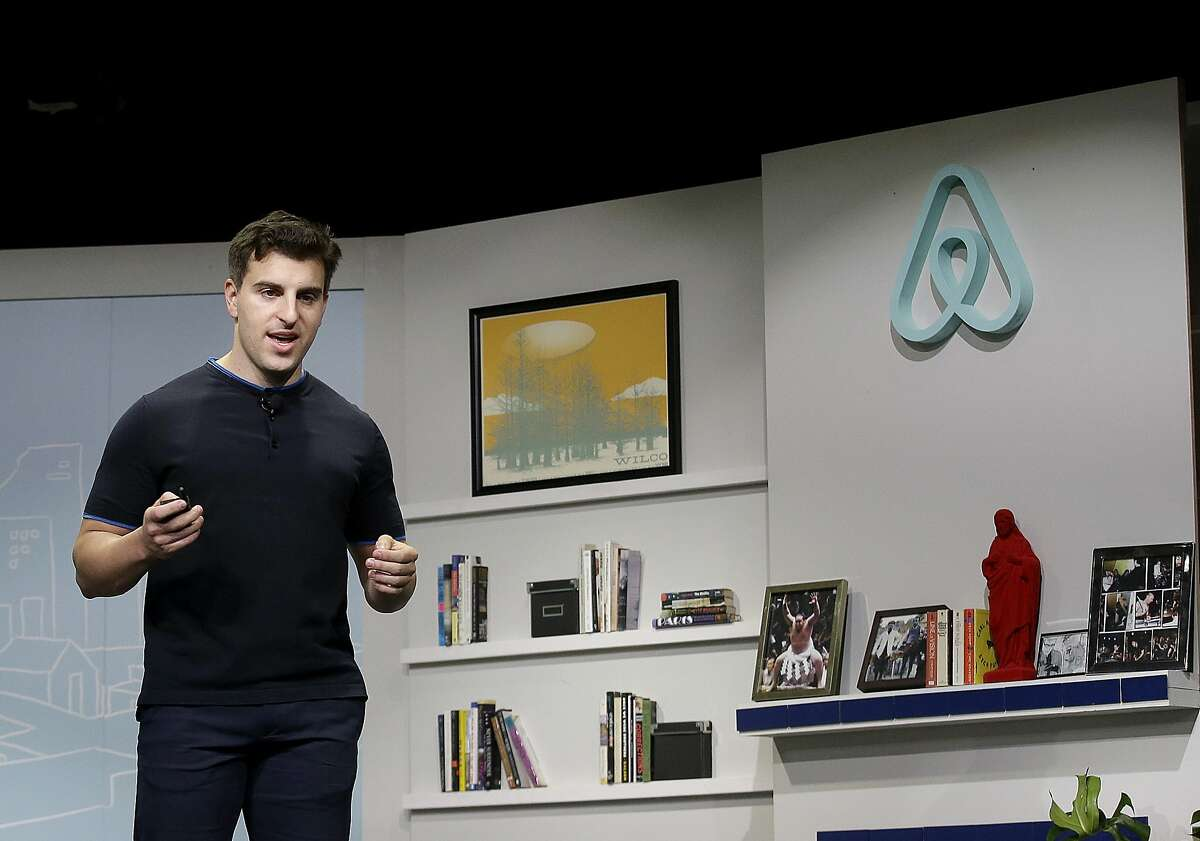 Airbnb CEO Brian Chesky, shown here in 2016, is leading his company to a long-awaited initial public offering.