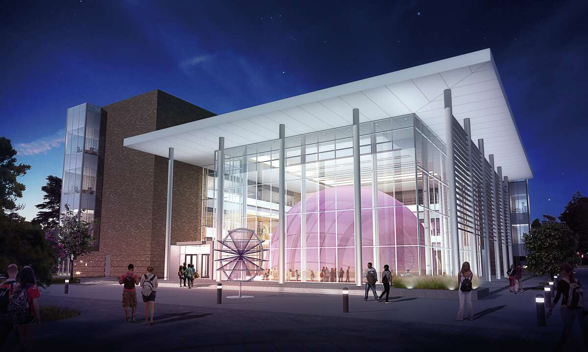 Kirksey Architecture designed the new Ed and Gwen Cole STEM building that features a 52-foot dome planetarium on the Stephen F. Austin State University's campus, slated to open in the spring of 2018.