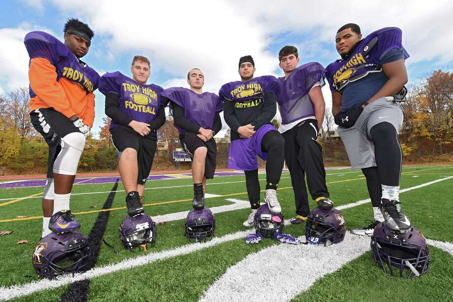 Troy High Football Propelled By Offensive Line Times Union