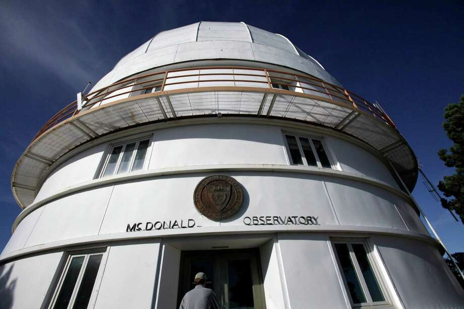 Astronomers come from around the world to visit the McDonald Observatory telescopes near Fort Davis,Texas, to conduct research under some of the darkest night skies in the continental U.S.  (AP Photo/LM Otero) Photo: LM Otero, STF / AP