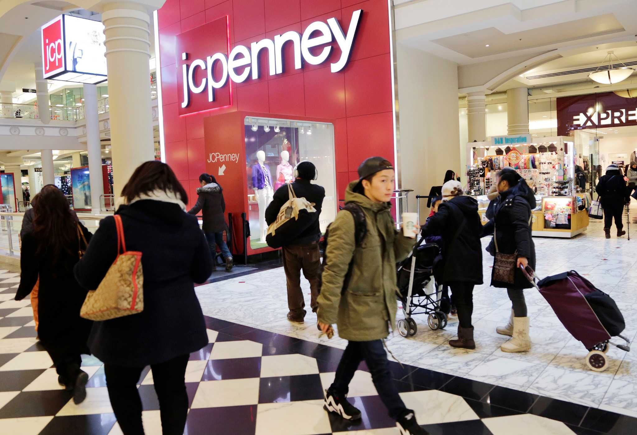 J.C. Penney CEO says some stores will close - San Antonio Express-News