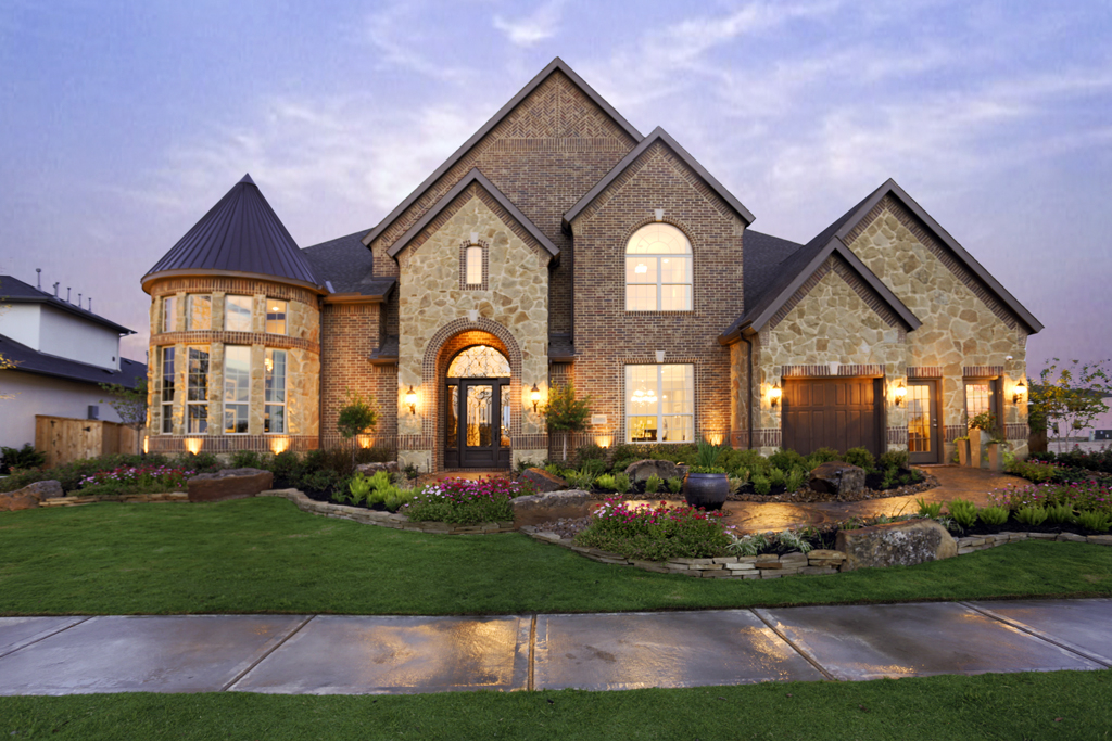 Cinco ranch nears build out with pricey houses on big lots for Custom build your home