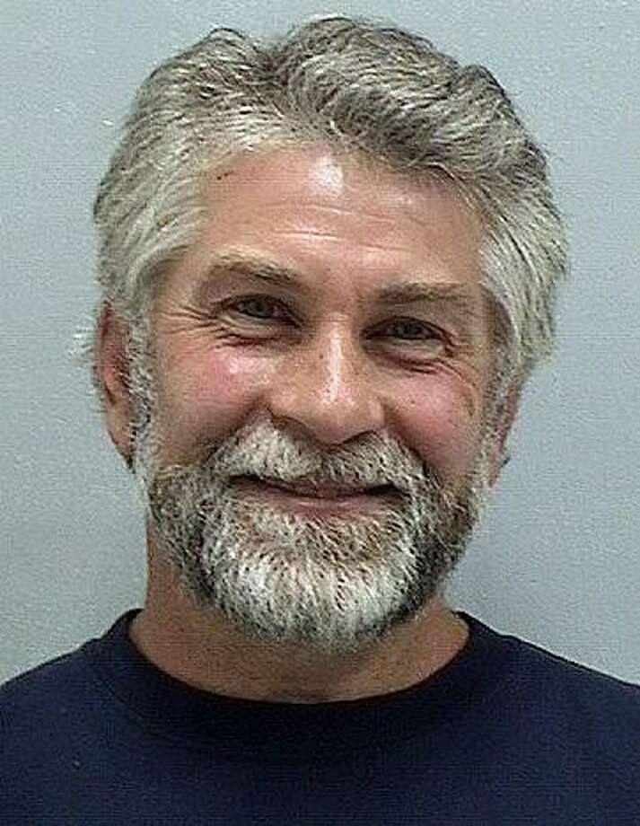 Michael Domogala, 50, of Orange, was charged with illegal destruction/movement/disturbance of a surveyor's marker. Photo: Orange Police Department Via Facebook