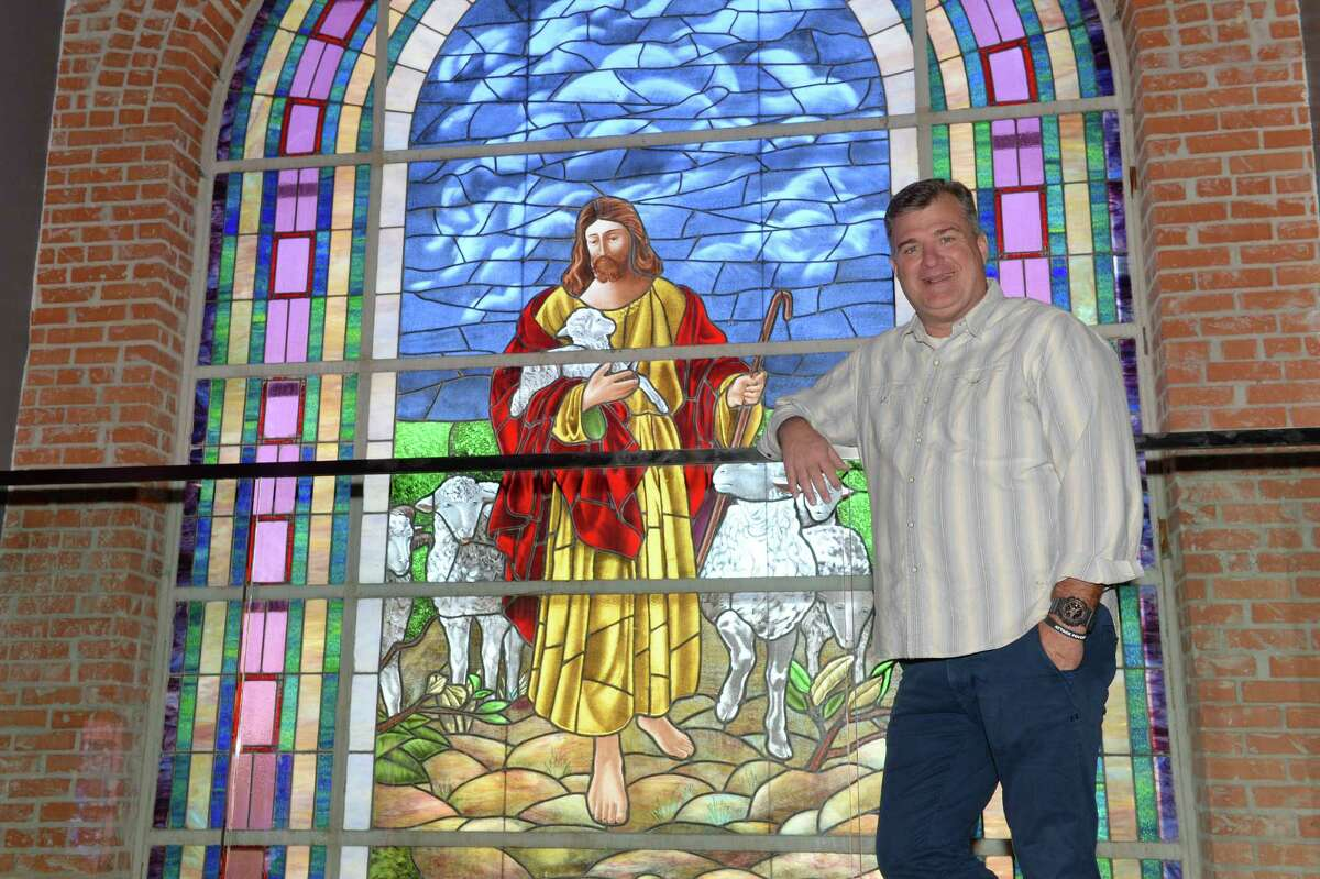 Pastor Patrick Kelley poses in the newly renovated West End Church on Friday October 21, 2016 in Houston, TX.