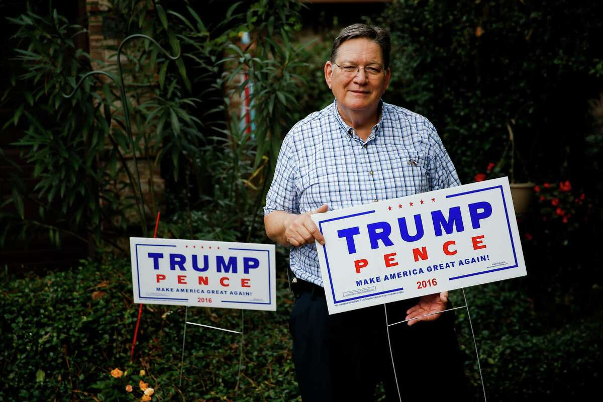 Paul Gebolys, a precinct chairman in The Woodlands, doesn't mind President-elect Donald Trump's bombastic style.