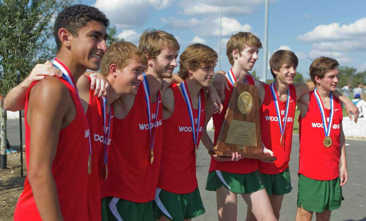 The Woodlands defended their team title to earn the program's 19th state overall championship during the UIL state cross country championships at Old Settlers Park Saturday, Nov. 12, 2016, in Round Rock.
