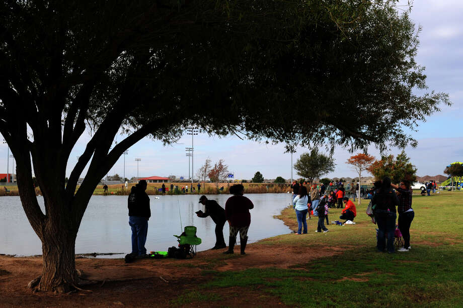 Kids can go fishing 8 a.m.-noon today at CJ Kelly Park, 5500 League Drive. Photo: James Durbin