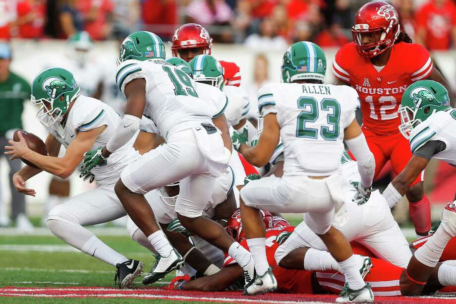 AAC POWER RANKINGS12. Tulane (3-7, 0-6 AAC)Tulane had one of its strongest showings of the year on Saturday and held Houston to a season-low 287 total yards in the Cougars' homecoming game, but the Green Wave still fell 30-18 to extend the team's losing streak to five games. Tulane plays its final home game of the season against Temple on Saturday and will be looking to pick up the first conference win under first-year coach Willie Fritz. Temple's physical style of play has given AAC teams problems all season, but it may play directly into the strength of the Tulane defense. But as it has been most of the season, the play of the of the offense will most likely dictate the Green Wave's chances in Saturday's game. If quarterback Glen Cuiellette can pick up where he left off after his 241-yard performance last week, Tulane may have a chance to pull off the upset. — Will Guillory, The Times-Picayune Photo: Michael Ciaglo, Houston Chronicle / © 2016  Houston Chronicle