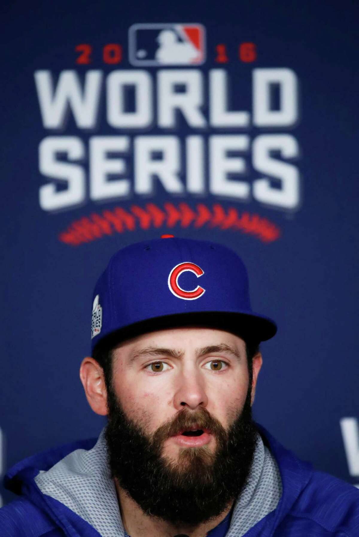 Cubs pitching star Jake Arrieta revealed his pleasure with the outcome of Tuesday's election.