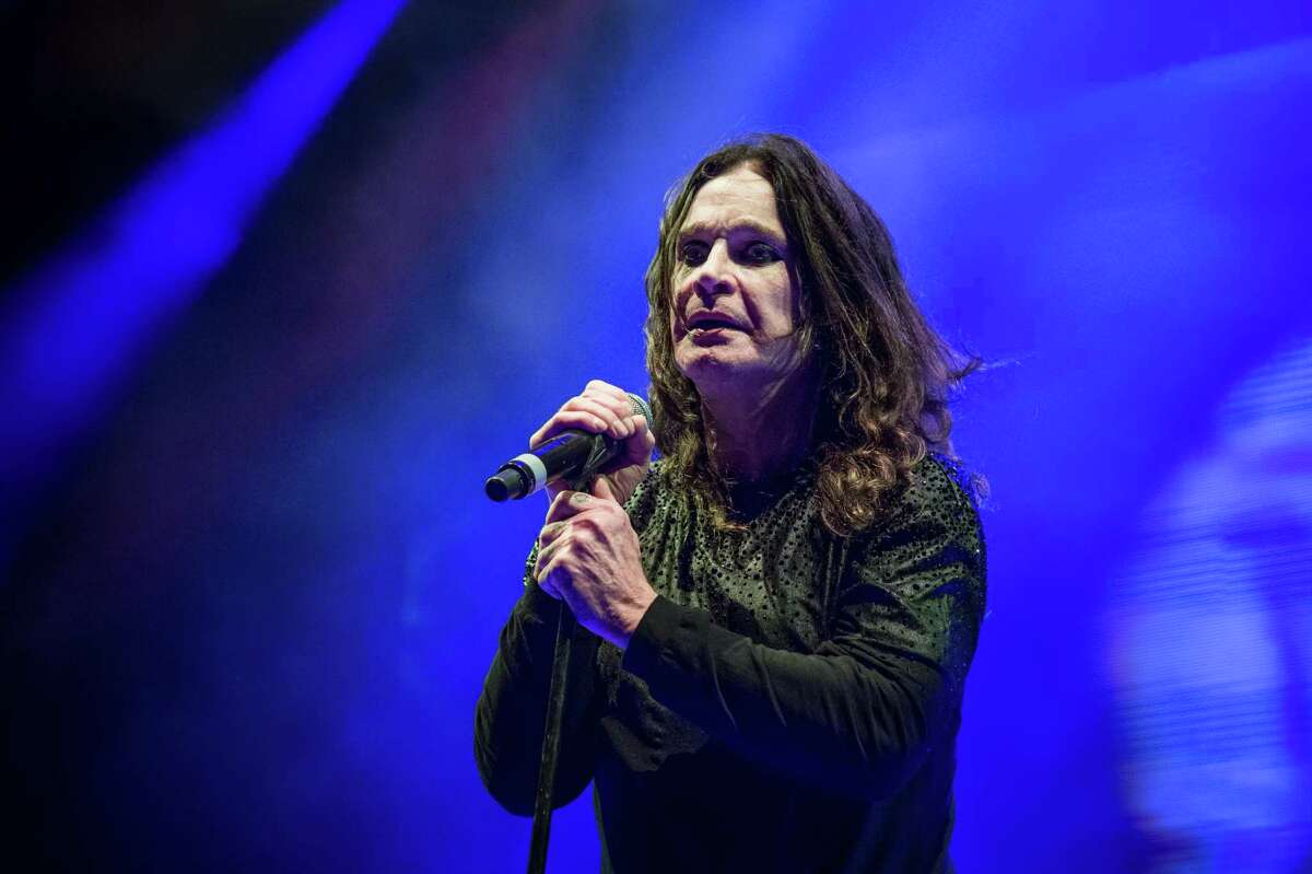 Ozzy Osbourne of Black Sabbath performs at Ozzfest 2016 at San Manuel Amphitheater on September 24, 2016 in San Bernardino, Calif. (Amy Harris/Invision/AP)