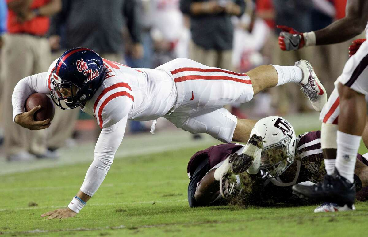 Texas A&M has lost three consecutive games to Mississippi. The Aggies get a chance to end that streak Saturday in Oxford, Miss.