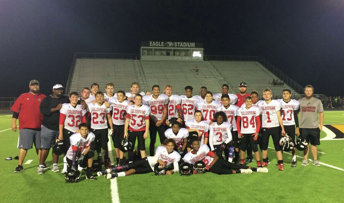 Lincoln Junior High's 8th grade football teams went undefeated and were the district champion this year. This bodes well for next year's freshman team as these young men advance.