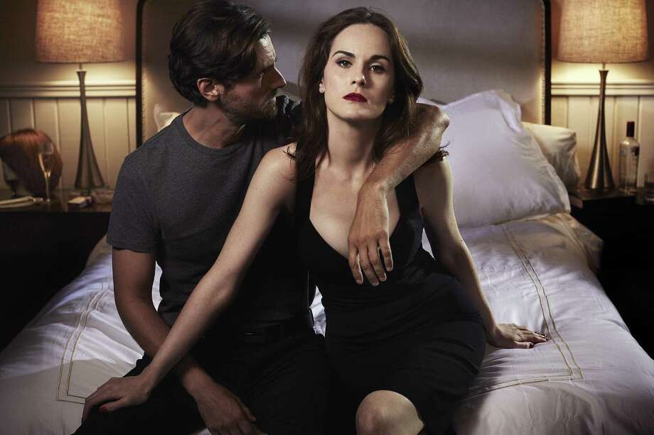 Sexy, provocative, noir thriller 'Good Behavior' on TNT stars Michelle Dockery and Juan Diego Botto. Photo: TNT / Vincent Peters / TM & (c) Turner Entertainment Networks. A Time Warner Company. All Rights Reserved.