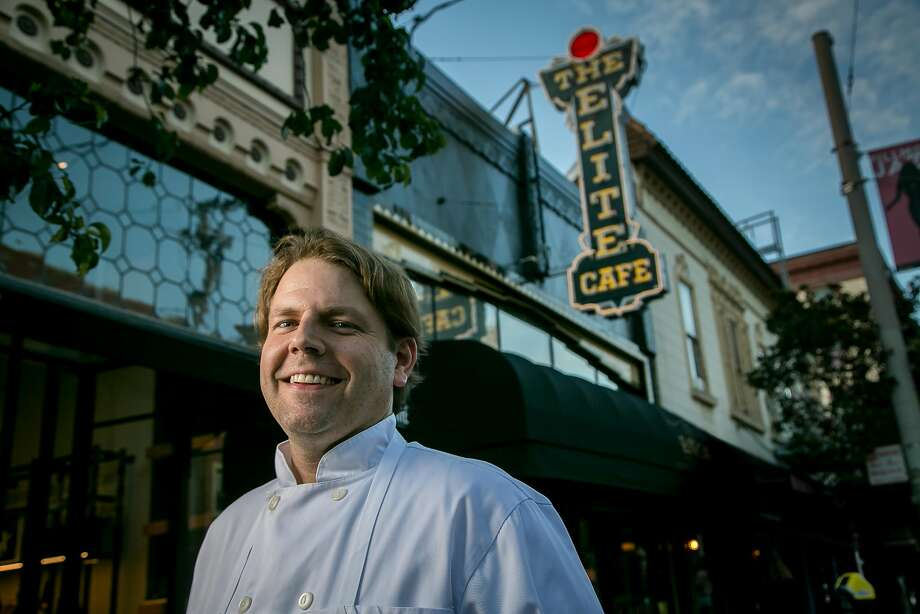 New Orleans native Chris Borges brings a modern flair to Elite Cafe's New Orleans food, lightening some of the dishes for a California palate. Photo: John Storey, Special To The Chronicle