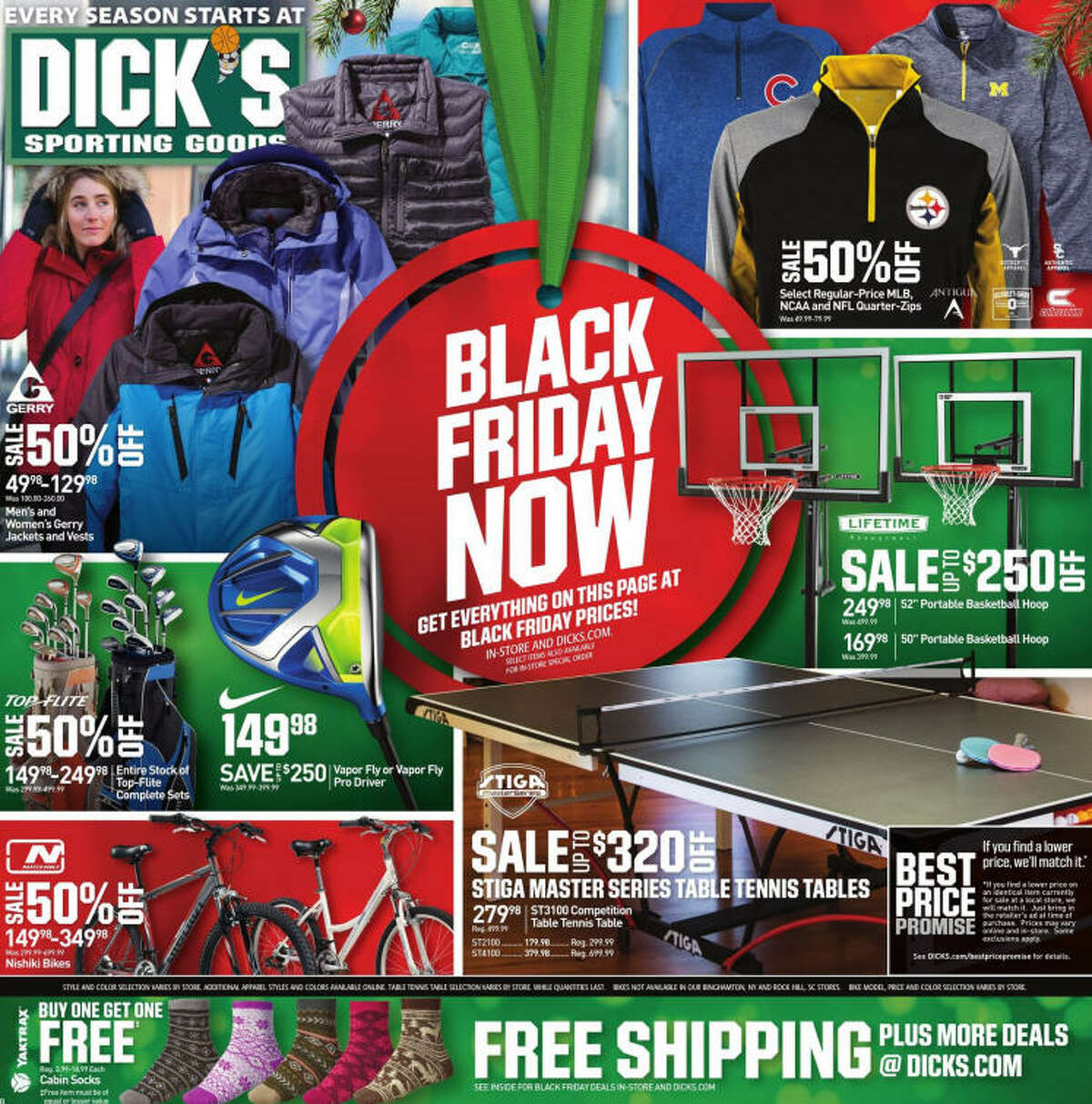 Dick's Sporting Goods has Black Friday deals ahead of the day, but we are still waiting on their official Black Friday ad to be released.