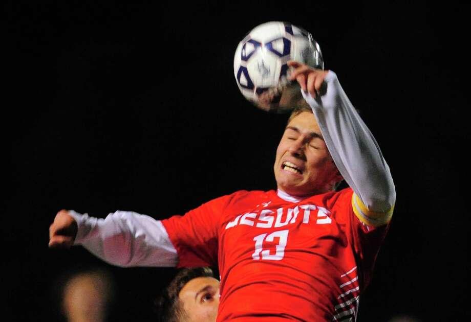 Fairfield Prep soccer all-star Biagio Paoletta. Photo: Christian Abraham / Hearst Connecticut Media / Connecticut Post