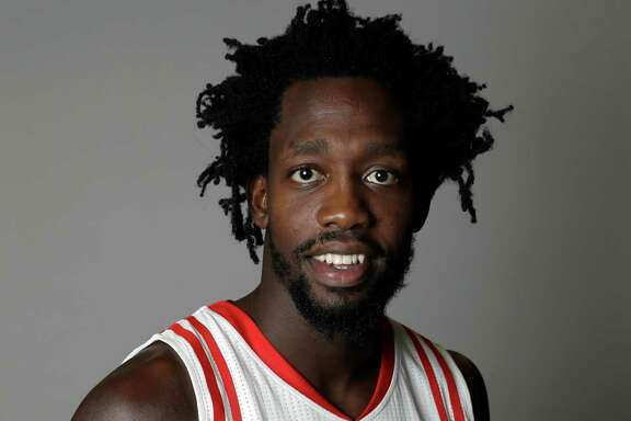 Houston Rockets' Patrick Beverley poses during an NBA basketball media day Friday, Sept. 23, 2016, in Houston. (AP Photo/David J. Phillip)