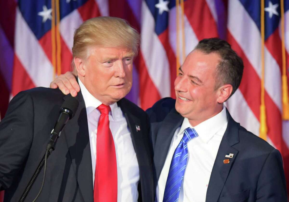 President-elect Donald Trump has named Republican National Committee Chairman Reince Priebus as his chief of staff.