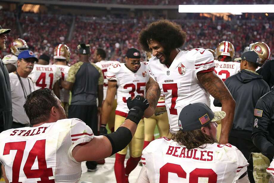 1.He is growing in the offense. Kelly and his staff are learning more about Kaepernick, and as Keapernick gains experience in Kelly's offense, his production could continue to ascend. Photo: Chris Coduto, Getty Images